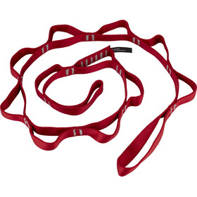 Black Diamond Nylon Daisy Chaîne 115cm / 18mm, red
